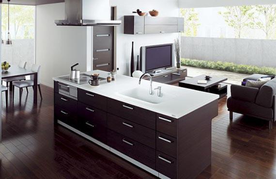 дизайн кухни с гостинной фото
