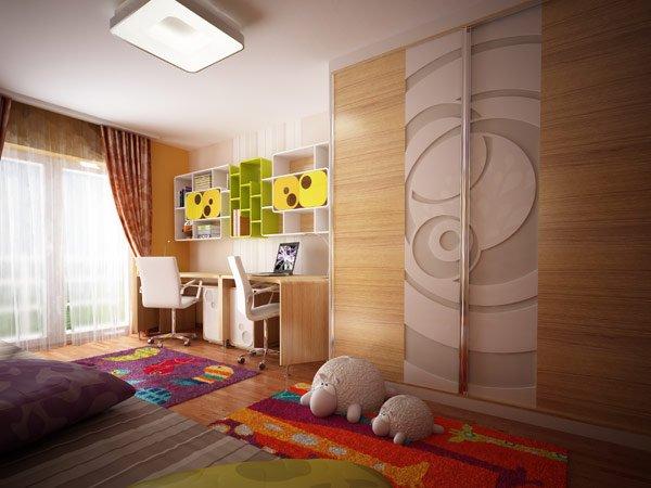 дизайн мебели для детской фото