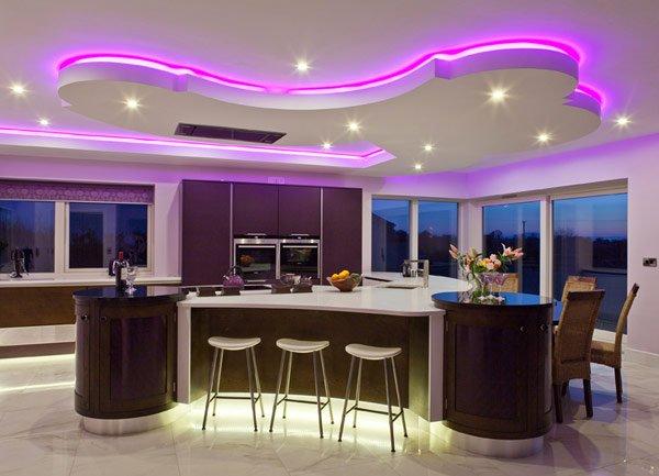 интерьер дизайн кухни столовой