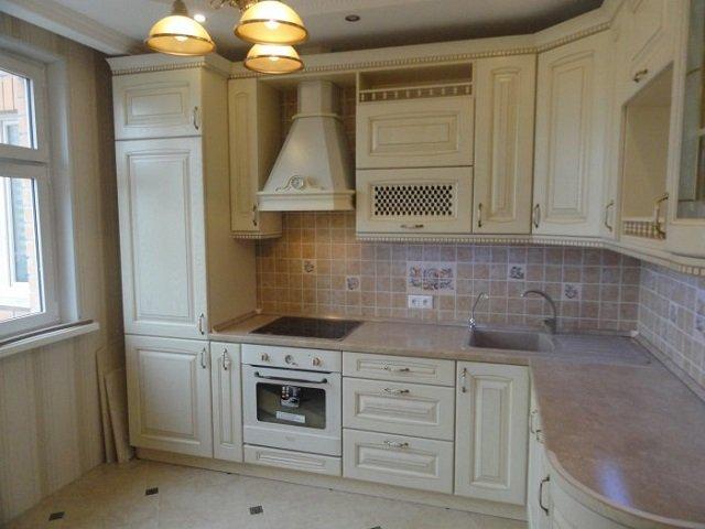 интерьер кухни 9м2