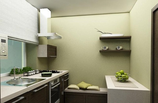 как создать интерьер кухни 6м2