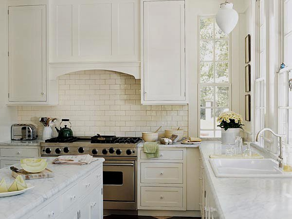 керамическая плитка на кухне фото