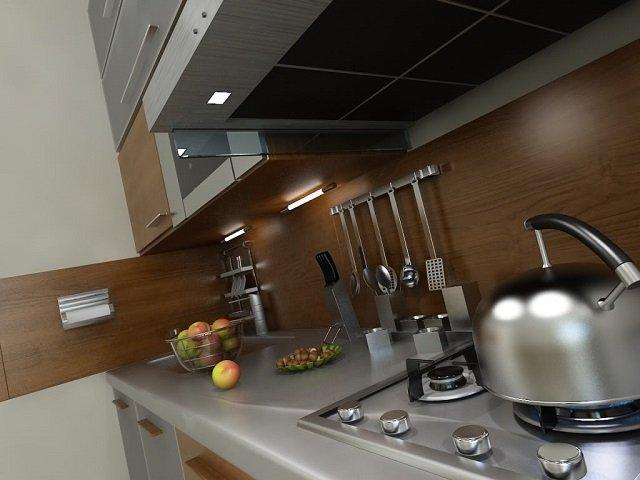 кухни 6м2 дизайнерский вариант
