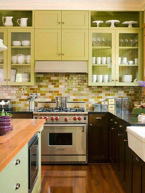 кухня керамическая плитка