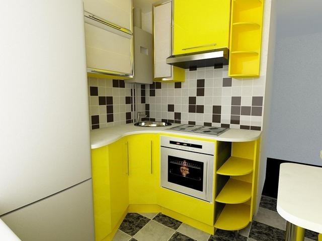 дизайн маленьких кухонь для малогабаритных квартир