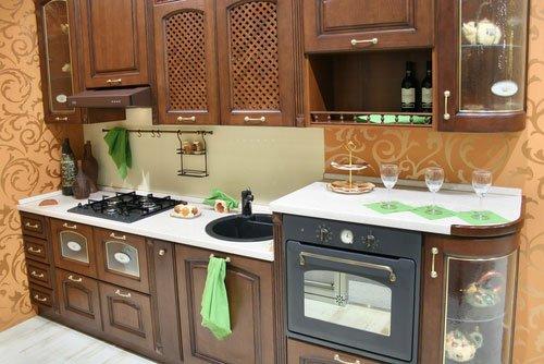 интерьер кухни хрущевки