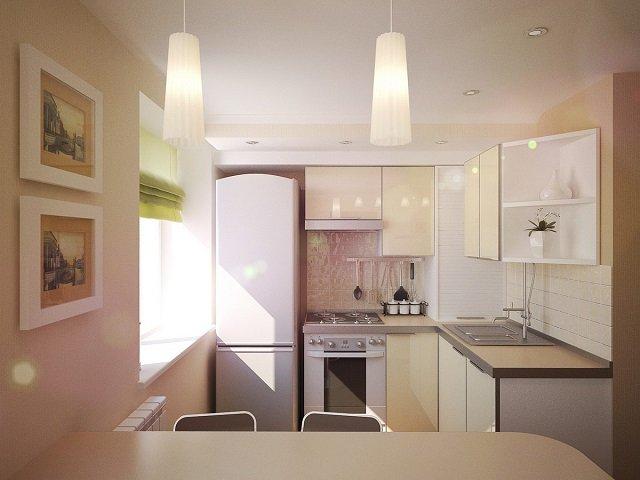 кухни в хрущевках неплохой дизайн