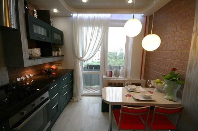 кухня 8 кв м