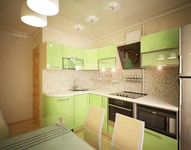 неповторимый дизайн кухни 8м
