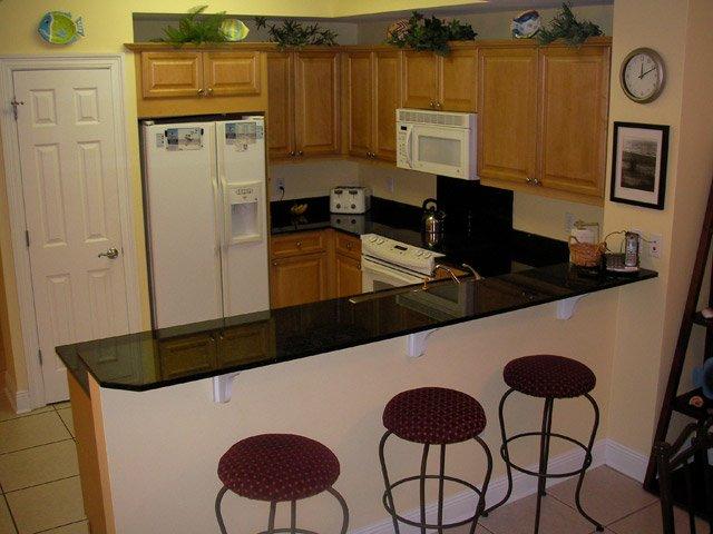 интерьер кухни с барной стойкой неплохой дизайн