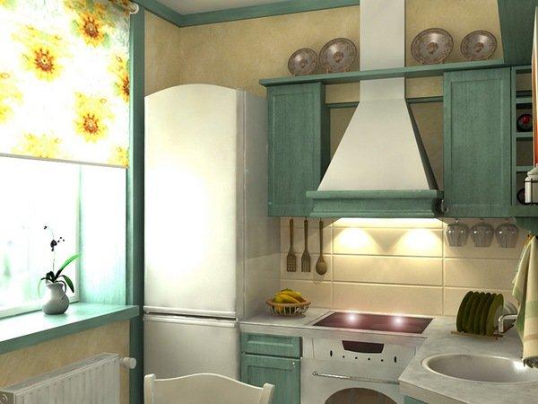кухня хрущевка дизайн проект