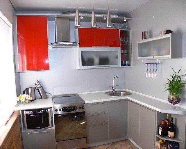 выбираем угловые малогабаритные кухни дизайн
