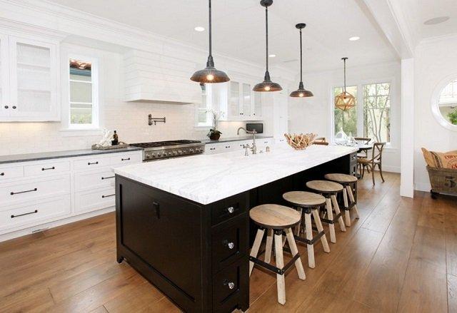идея освещения кухни