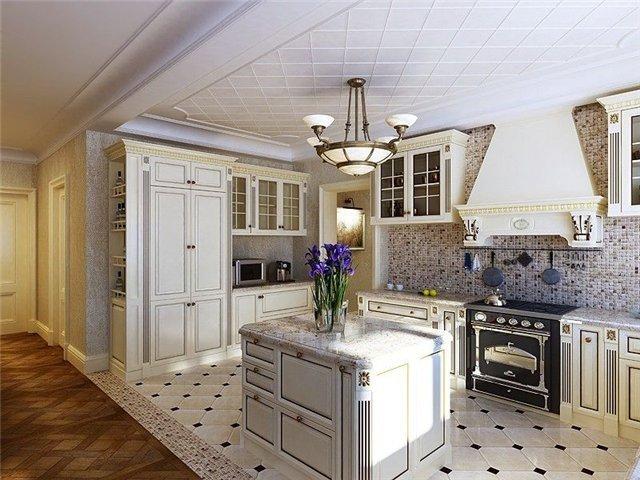 Дизайнерские проекты кухни