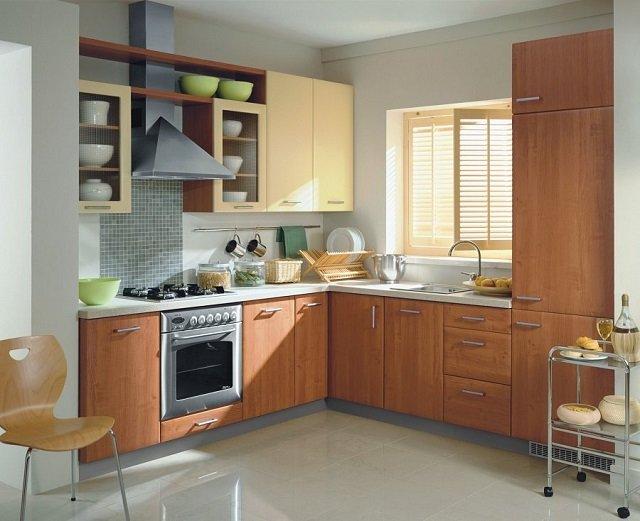 дизайн кухни для маленького помещения