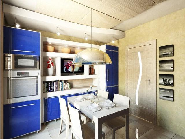 12 метровой кухни дизайн