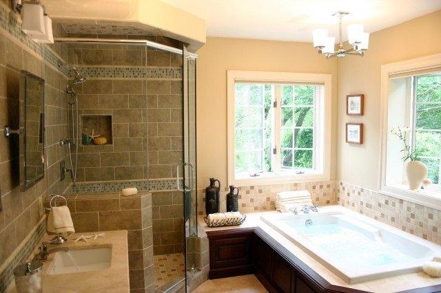 черты класического интерьера ванной комнаты