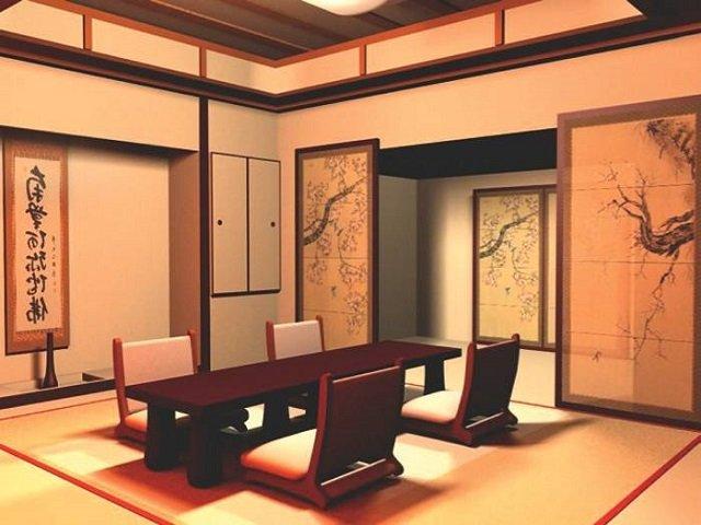 декоратив на кухне в японском стиле