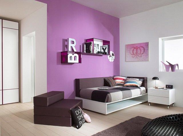 делаем дизайн спальни для девочек подростков