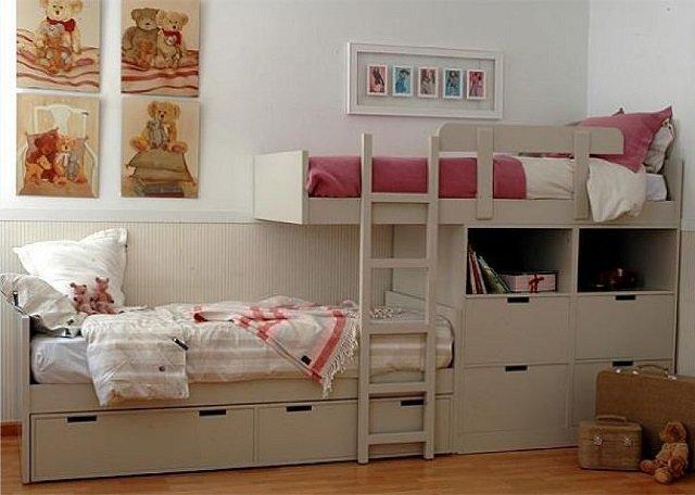 детские комнаты для разнополых детей