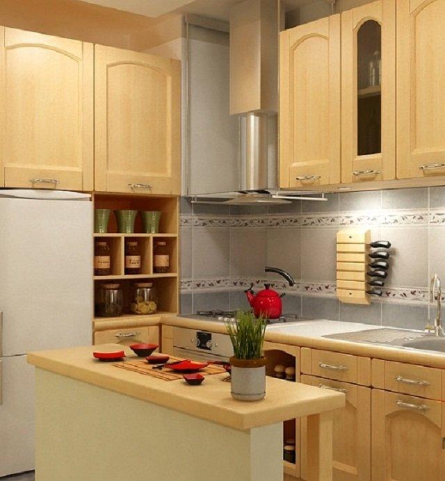 дизайн кухни 7 метровой