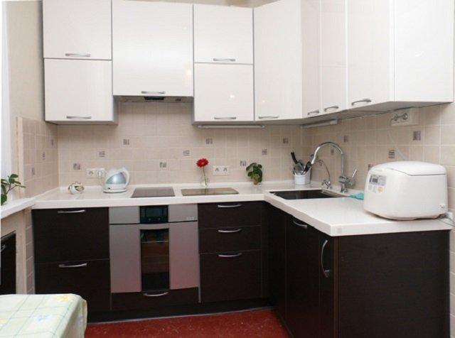 дизайн маленькой кухни 5 кв м