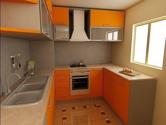 дизайн 7 метровой маленькой кухни