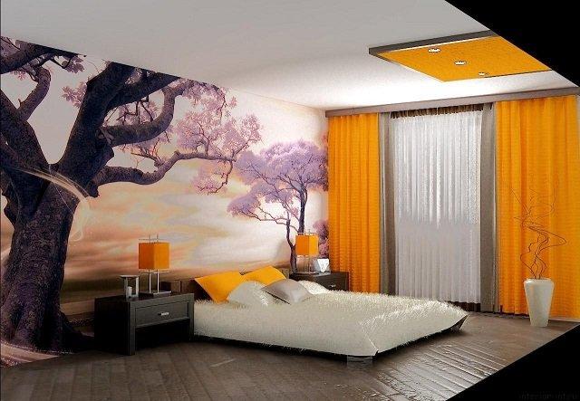 дизайн интерьера спальни своими руками выполненный