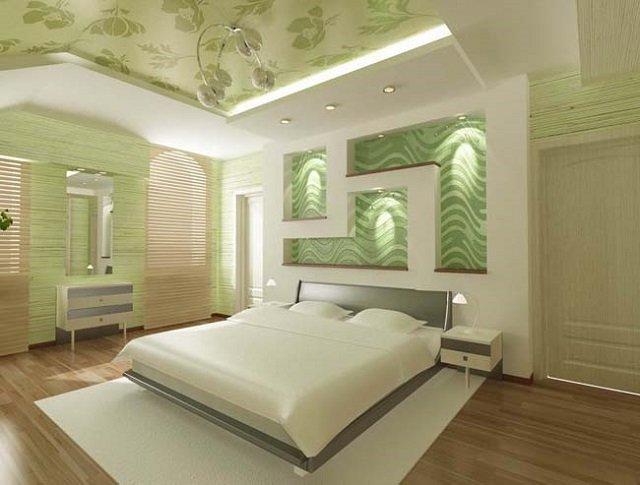 дизайн мансардной спальни