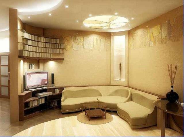 дизайн небольшой гостиной можно организовать со вкусом