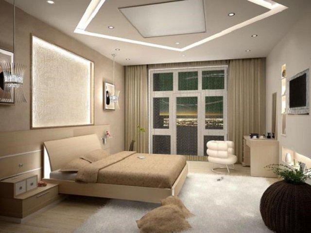 дизайн спальни размерами 12 квадратов
