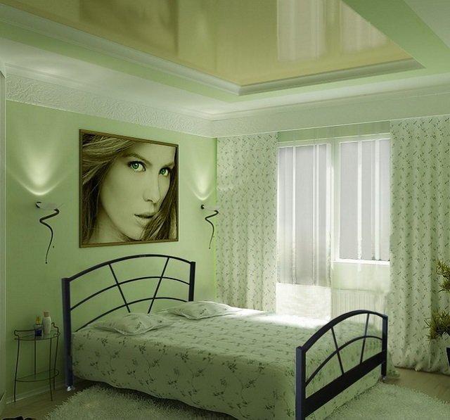 дизайн спальни в необычном стиле