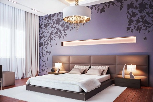 дизайн спальни в стиле модерн сочетаем несочетаемое