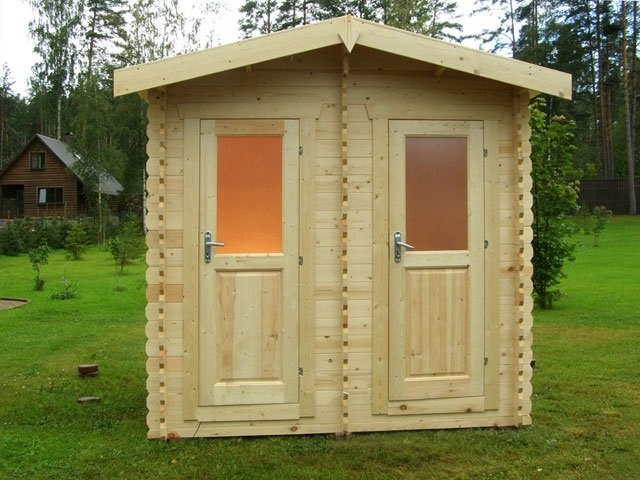 дизайн туалета на даче
