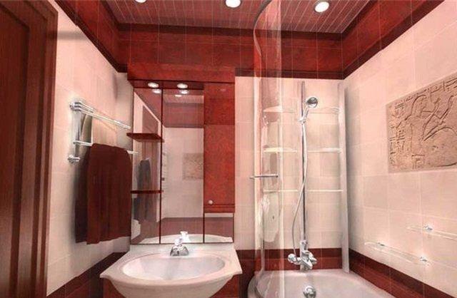 дизайн ванной комнаты 170х170 площадью