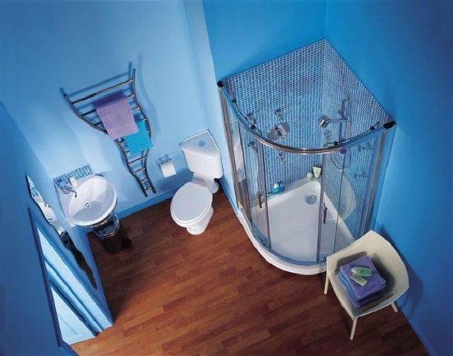 дизайн ванной комнаты с кабиной 170х170 площадью
