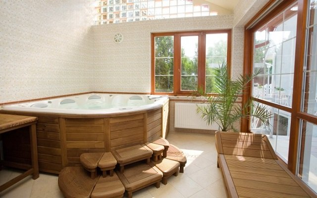 дизайн ванной комнаты в интересном стиле