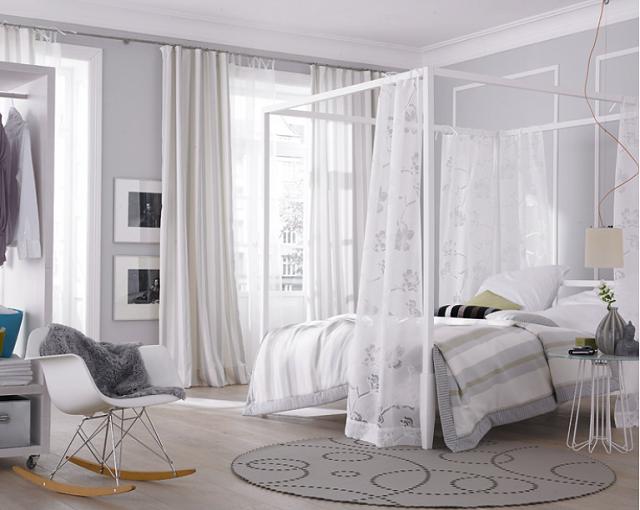 дизайн занавесок в спальню