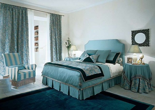 французский интерьер спальни