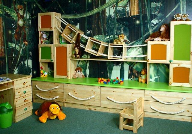 грамотный дизайн детской комнаты с фотообоями
