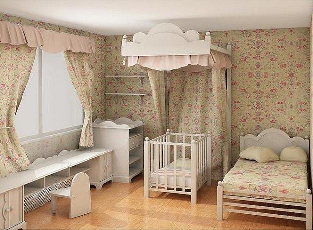 хороший дизайн комнаты для младенца