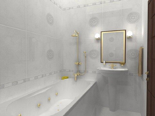 хороший дизайн-проэкт маленькой ванной