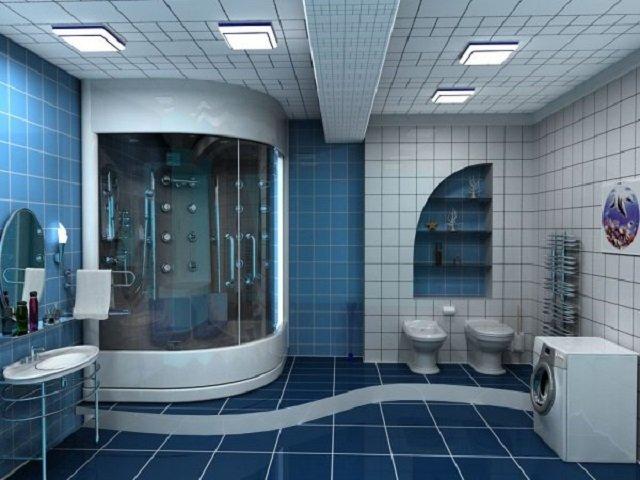 хороший дизайн типовой ванной
