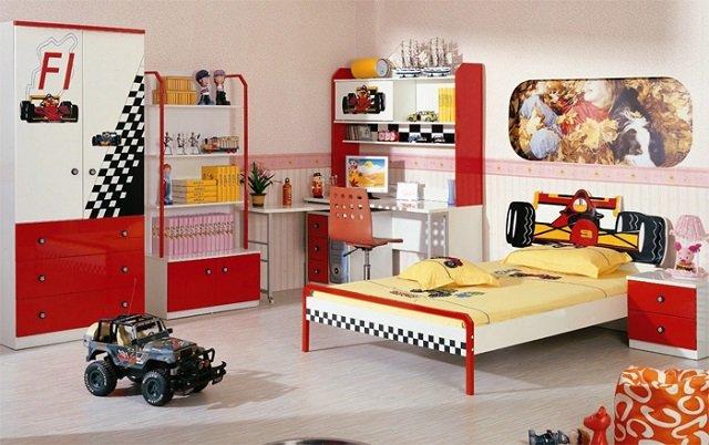 интерьер детской спальни для мальчика