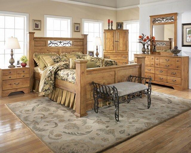 используем ковры в интерьере спальни