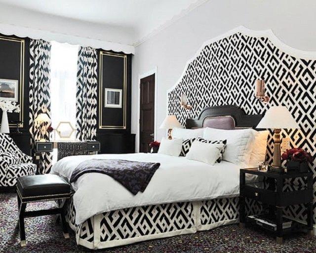 классика в дизайне спальни