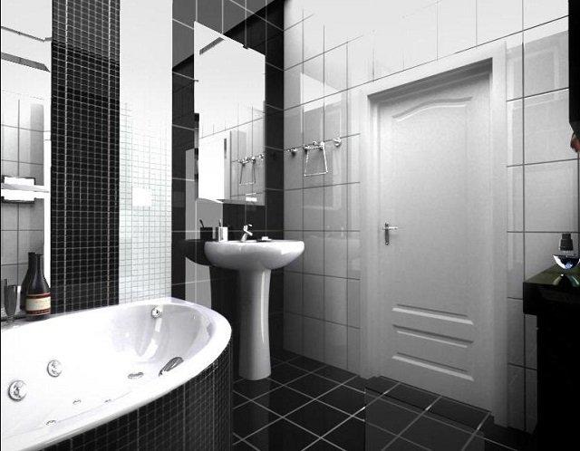 классика в дизайне ванной комнаты