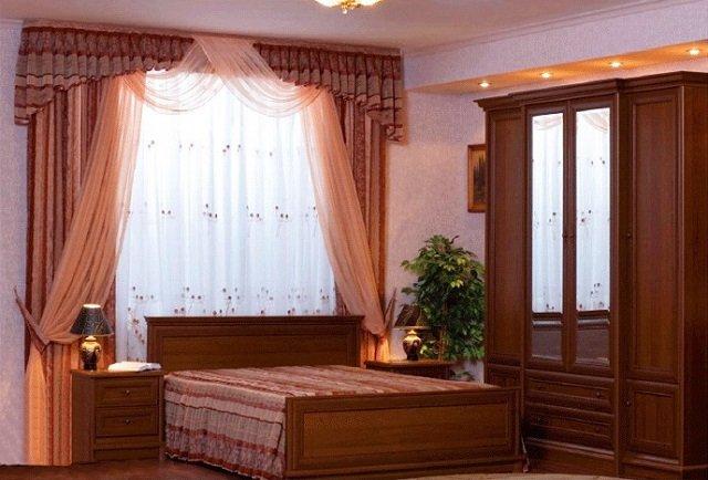 красивая спальня по фен шуй
