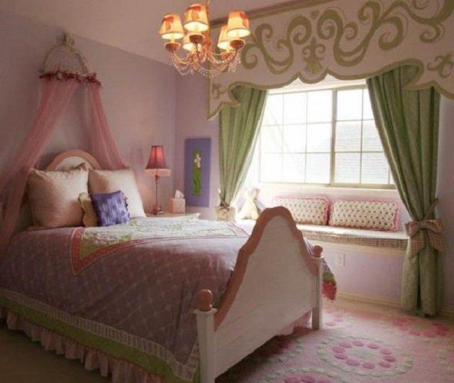 красивые спальни для девушек