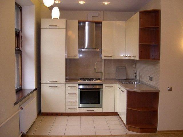 кухни в маленькой квартире